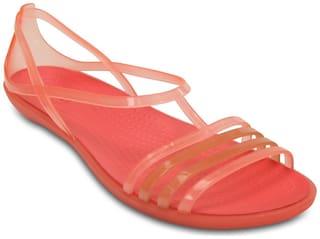 Crocs Women Orange Sandals