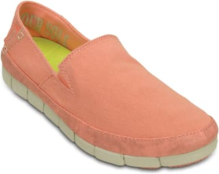 41c4213a0ee62 Buy Crocs Women Orange Casual Shoes Online at Low Prices in India ...