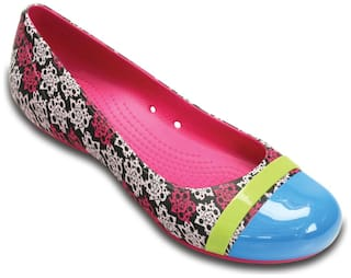 Crocs Women Pink Bellie