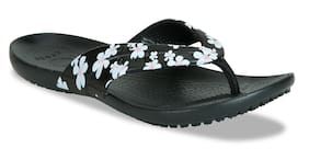 Crocs Women Black Flipflops