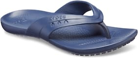 Crocs Women Navy Blue Flipflops