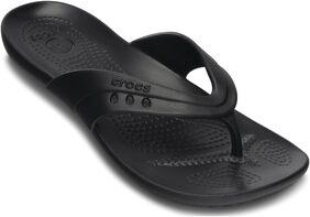 Crocs Women Kadee Black Flip Flops