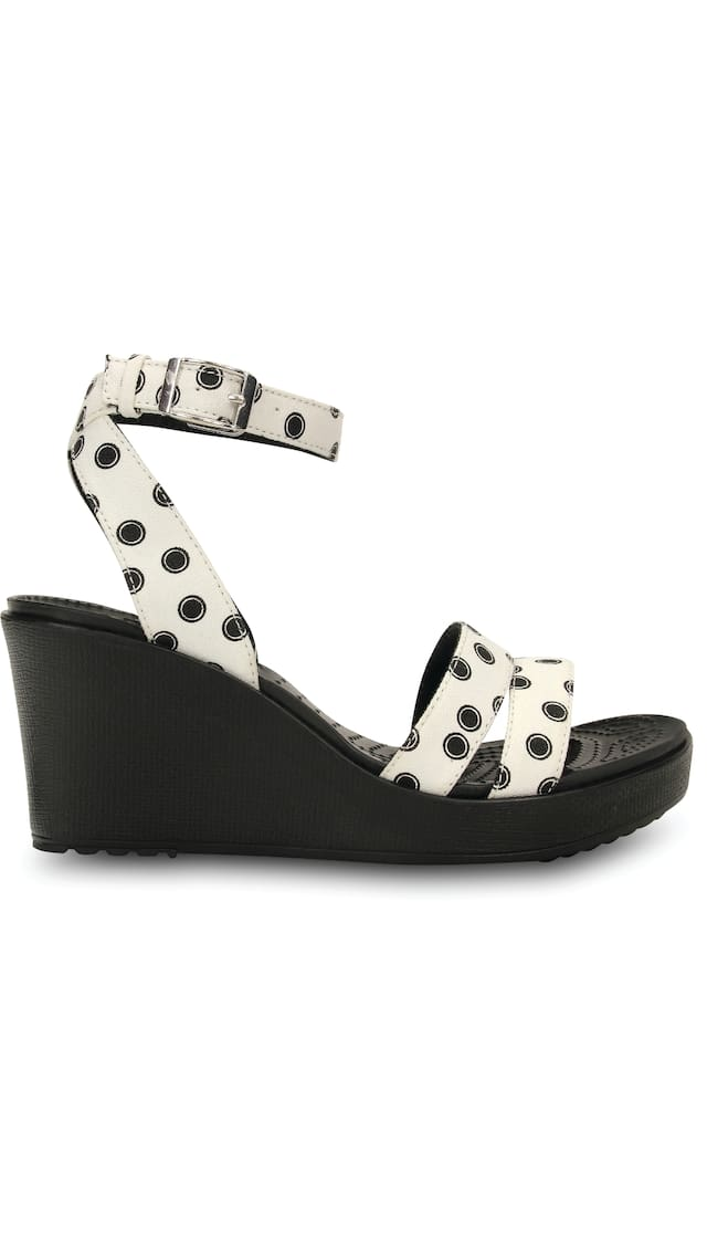 Crocs Women Leigh Graphic Wedges