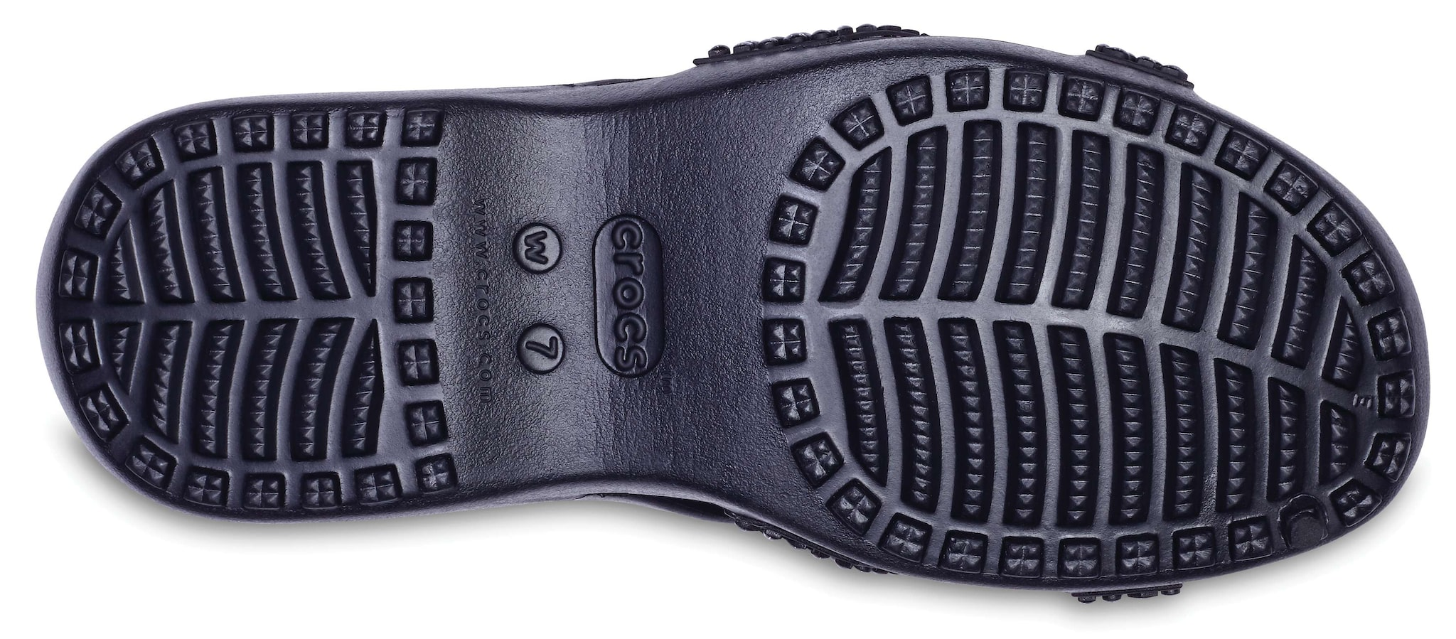 8e370e1b9137 Buy Crocs Women Meleen Twist Diamante Black Slippers Online at Low Prices  in India - Paytmmall.com