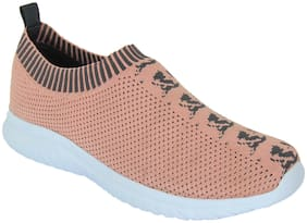 Cubane-50 Women Pink Slip-On Shoes