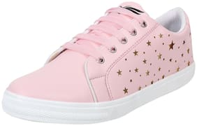 Cubane-50 Women Pink Sneakers