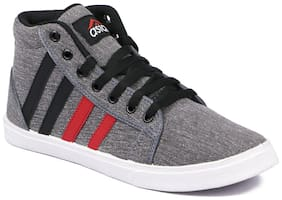 Asian Men Grey Sneakers