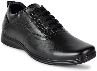 D.S.P Men Black Derby Formal Shoes - DSP_834_BLK