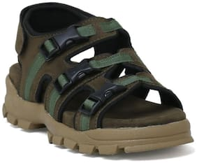 Dakarr 201 Olive sandal for men's