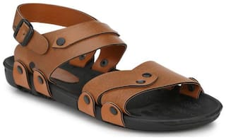 Dakarr Men Brown Sandals -