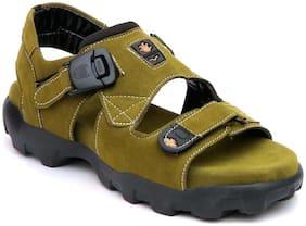 Dakarr Men Green Sandals -