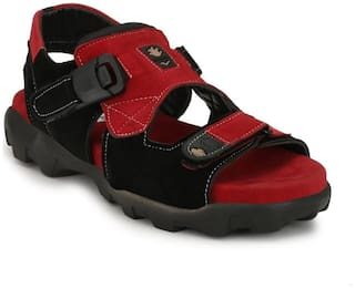 Dakarr Men Red Sandals -