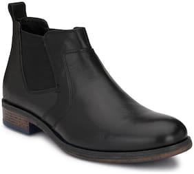 Delize Men Black Ankle Boots - 56053