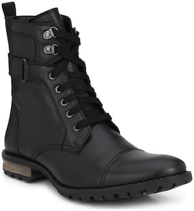 Delize Black Hekking & Trakking Boots For Mens