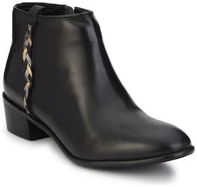 Delize Women Black Boot