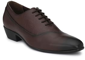 Delize Men Brown Formal Shoes - 56091-brown