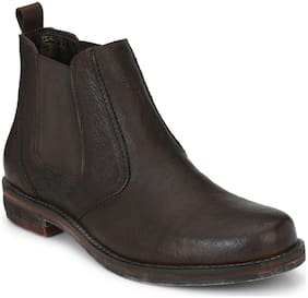 Delize Men's Brown Chelsea Boots