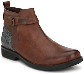 Delize Men Brown Boots