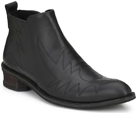 Delize Men Black Boots