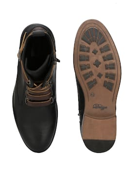 Delize Men Black Boot - 56050