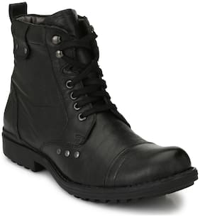 Delize Men T-002 Black Boots