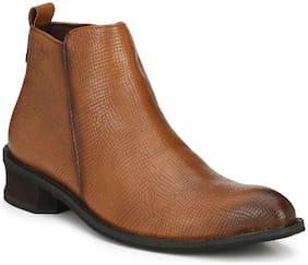 Delize Men's Tan Chukka Boots
