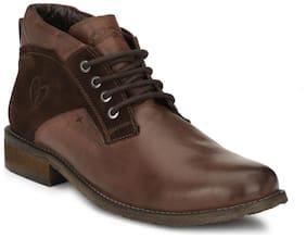 Delize Men Brown Casual Shoes