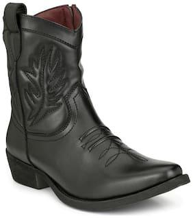 Delize Men's Black Chelsea Boots