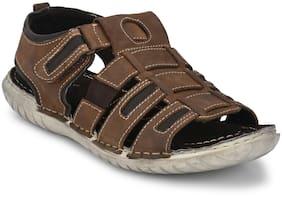 Delize Men s evergreen sandals Brown