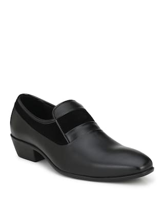Delize Men Black Formal Shoes - 56094-black