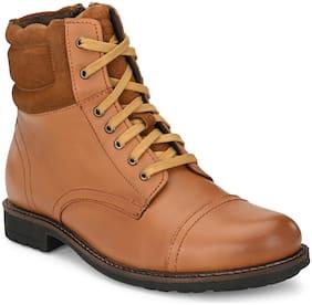 Delize Men Tan Chelsea Boots - 54760