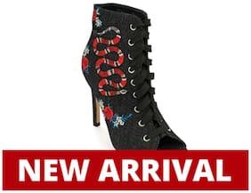 Truffle Collection Black Heels