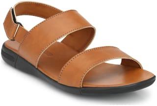 Derby Kicks Men Tan Sandals