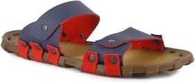 BRAWO Unisex Blue Outdoor slippers