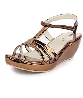 DIGNI Copper Mesh Sandals