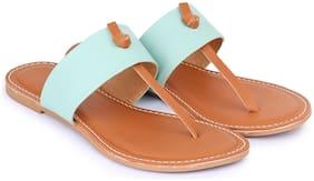 Digni Women Green Sandals