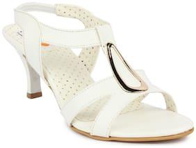 DIGNI White Mesh Sandals