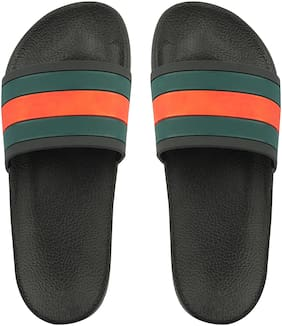Do Bhai Men Black Flipflop