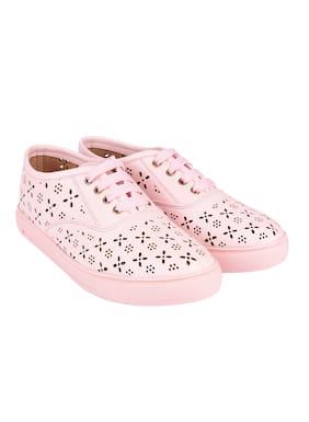 Do Bhai Women Pink Casual Shoes
