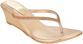 Do Bhai Women Copper Wedges