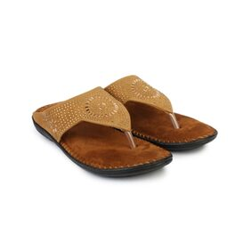 Do Bhai Women Beige Sandals