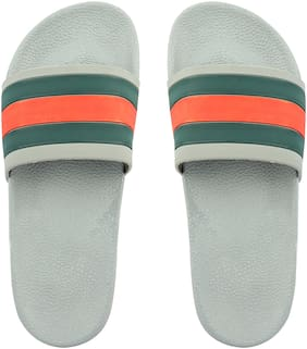 Do Bhai Grey Flipflops for women