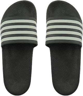 Do Bhai Men Grey Flip-Flops - 1 Pair