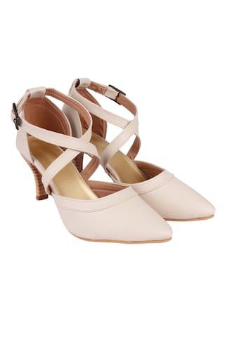 Do Bhai Women Beige Sandals