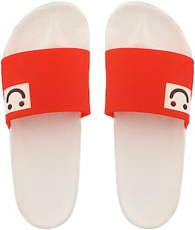 Do Bhai Red Flip-flops for women
