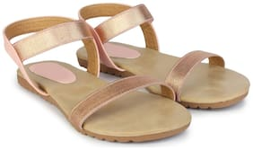 Do Bhai Women Pink Sandals