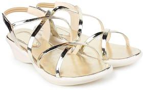 Do Bhai Women Brown Sandals