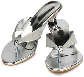 Do Bhai Women Blue Sandals