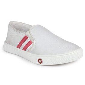 Do Bhai Women White Casual Shoes