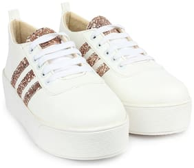Do Bhai Women Copper Casual Shoes